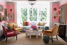 pink decor / by Tiffany Brommerich Kotz
