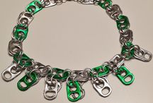 Top of the Pops soda tab craft and arts / Jewelry and other cool things made from soda tabs/pop tops/pull tabs, etc