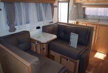 Aloe Off road caravan / Exterior colour Interior design and material