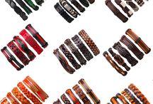Leather bracelet sets   www.menjewell.com / watch, watchformen, wrist-watch, men-fashion, mensstyle, menswearfashion, mensfashiondaily, like, mensjewelry, menjewelry, fashion, jewelry, gelangpria, antingpria, earrings, fashion2017, mensfashion, fashionblogger, istagood, webstagram, bloggerstyle, menswear, instahub, mensfashion, bracelets, style, menstyle, earrings, mensfashionpost, minimalistjewelry, fashiontrends, kada, watch, beaedBracelet,leatherBracelet, bali, bracelet, steelBracelet, silverbracelet, ring, goldring,www.menjewell.com
