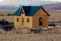 Tiny Houses for the Homestead! / by Nate Werber
