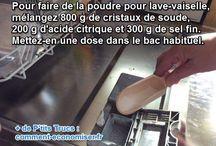 Savon _ lave vaisselle