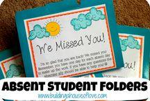 υλικό για μαθητές που έλειπαν