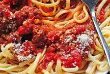 Recipes: Pasta and Sauces
