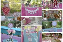 Our princess Parties / All decorations & entertainment created by Tiaras & Wands Parties - We fully organize your princess party, from the invitations and décor, to the magical princess or fairy entertainment at your party so your little princess can enjoy her very own fairytale!