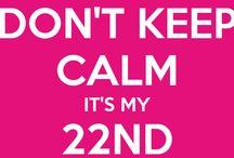 22ste Verjaardag