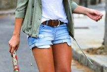 Great looks with denim shorts