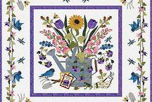 baltimore spring quilt