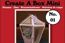 Crealies Create A Box Mini Dies