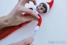 Elf on the shelf / Bending elf