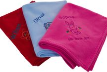 Personalised Baby Blankets - New Born Baby Gift