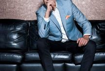 Mens : blue blazer