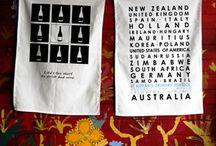 Best Homewares Tea Towels / Homewares themes printed onto a tea towel