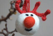 eco Christmas ornaments