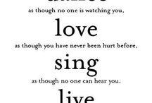 My mottos / by Elizabeth Howard