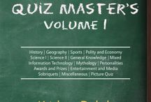 My Book / Picture and things related to my first book - The Quiz Master's Volume I