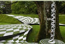 Artful Gardens / The landscaping of these beautiful gardens is breathtaking.