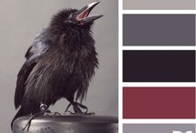 Cranberry grey and black