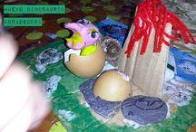 manualidades made garbiñe / trabajo de mis alumnos o ejemplos de mi trabajo para talleres