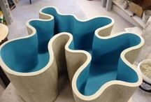 Clay scalptures