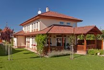 Mediterranean Family House :) / A mediterranean timber-frame house in Budakalász - Hungary. A huge house for a big family!