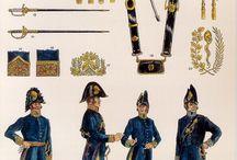 Militari Uniformi / Esempi storici dei uniformi militari di vari paesi e periodi.