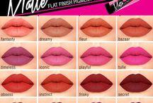 la girl matte lips