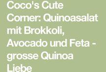 quinoasalat rezepte / Quinoasalst