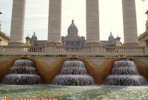 Pałac Narodowy i Muzeum MNAC / Pałac Narodowy to budowla wybudowana w 1929 roku i usytuowana na wzgórzu Montjuic. Początkowo miała zostać zburzona po zakończeniu Wystawy Światowej, ale udało się ją ocalić. Obecnie w Pałacu mieści się Museu Nacional d'Art de Catalunya, które ma w swoich zbiorach sztukę katalońską od okresu średniowiecza do współczesności.