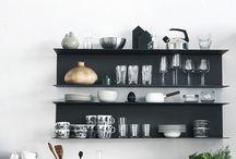 Idées d'étagères murales pour cuisine