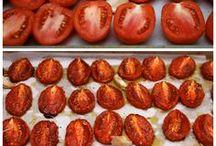 Tomates et conserves