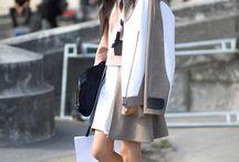 Korean street style / Clothes