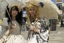 Gothic Lolita Style / Japanese street-style inspired Gothic Lolita looks.