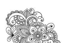 Doodles (black & white)
