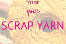 IDEAS FOR SCRAP YARN