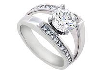 Diamond Engagement Rings / Beautiful Diamond Engagement Rings