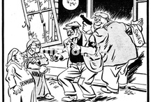 WW2 cartoons / World War 2 in cartoons, caricatures and graphic novels