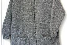 strikket trøje
