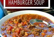 Hamburger soup 2017