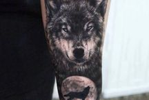 Tattoo black and grey