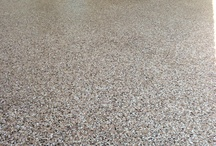 Beautiful Garage Floors! / Coated garage floors.