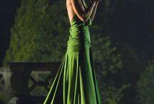legendary green dress