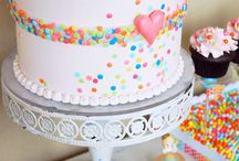 candy themed cakes
