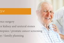 Urology / Information about health issues related to the field of urology.
