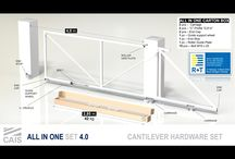 Cantilever hardware