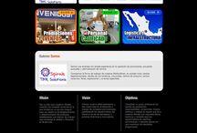 Spiralemx / http://spiralemx.com/ Sitio personalizado en base a una plantilla prediseñada