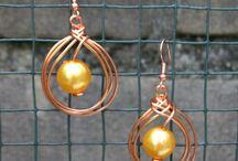 Jewelry-Wire Wrap-accent stones