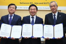 Memorandum of Understanding / The IEC (International Electrotechnical Commission), the Jeju Special Self-Governing Province and the Korean Agency for Technology and Standards (KATS) have today signed a Memorandum of Understanding (MoU) with the aim to accelerate ‪#‎sustainable‬, carbon neutral ‪#‎development‬. http://www.iec.ch/newslog/2016/nr0716.htm / by IEC (International Electrotechnical Commission)