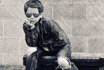 chłopak fotografia