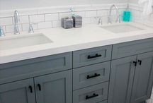 Coloured Cabinetry